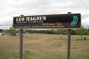 Leo Magnus cricket fields